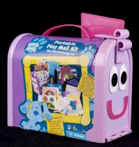 Blues Clues Portable Mail Box Art Storage Case ONLY