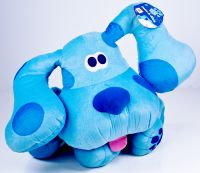 "Blues Clues 16"" Pose a Blue Poseable Plush"