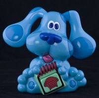 Blues Clues TALKING BLUE WITH NOTEBOOK Toy