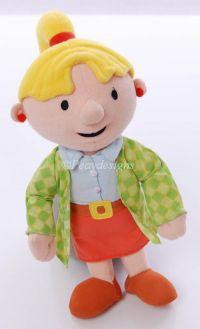 "Hasbro Bob the Builder DRESSY WENDY 12"" Plush Doll"