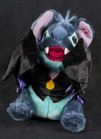 Disney Lilo Stitch Vampire Musical Animated Plush SEE VIDEO