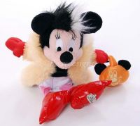 Disney World Minnie Mouse CRUELLA Halloween 2002 Plush