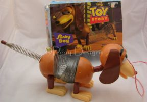 Toy Story Original SLINKY DOG Pull Toy in Box