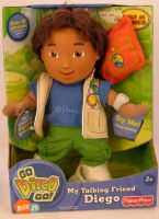 Fisher Price MY FRIEND DIEGO Talking Doll NIB Nick Jr.