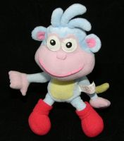 Fisher Price Dora the Explorer Talking BOOTS THE MONKEY Plush 2001 RARE