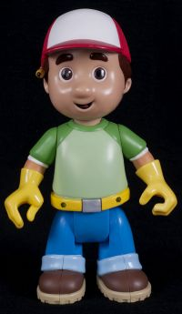 Fisher Price Disney Handy Manny Lets Go to Work Interactive Talking Doll Fi