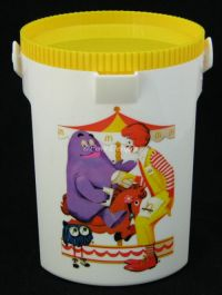 McDonalds Ronald Child Water Bottle Drink PITCHER Character Vintage 1978