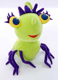 Fisher Price Miss Spiders SILLY SQUIRT Talking Plush