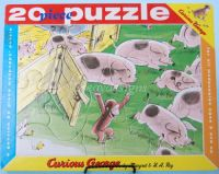 Curious George GETS A MEDAL 20pc Frame Tray Puzzle