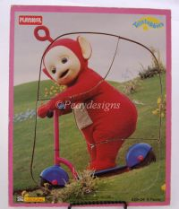 TELETUBBIES PO Childrens Wooden 5pc Puzzle - Vintage 98