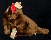 Applause Sesame Street Snuffy Snuffleupagus as a Reindeer Plush