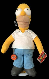 Applause Simpson's 300th Episode Homer Simpson Limited Edition Plush Doll