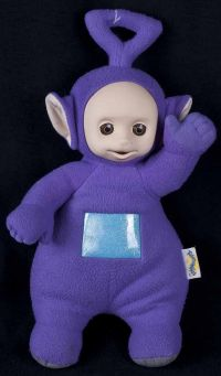 "Playskool Hasbro Teletubbies Talking Tinky Winking 17"" Plush"