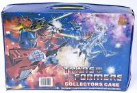 Transformers Collectors Case Vintage Hasbro 1984
