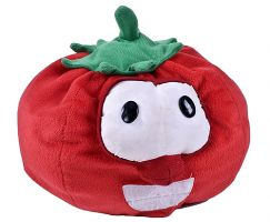 "Veggie Tales Bob the Tomato 7"" Plush"