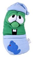 "Veggie Tales Larry the Cucumber 28"" Night Time Pillow Plush"