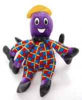 Wiggles HENRY THE OCTOPUS Singing Plush Doll Toy