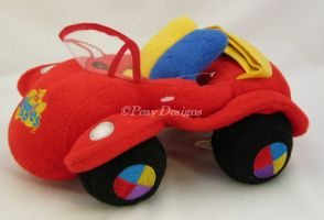 Wiggles Character PLUSH BIG RED CAR Toy
