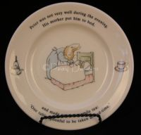 Wedgwood PETER RABBIT Child's Plate NWT